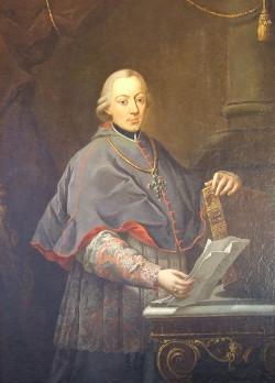 """Antonio Brunetti: """"Ritratto del vescovo De Pergen""""."""