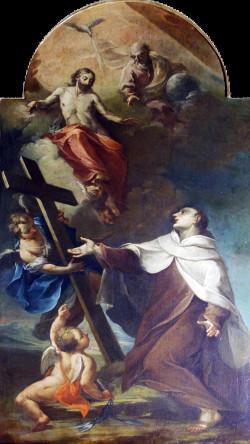 """Antonio Brunetti: """"San Giovanni della Croce""""."""
