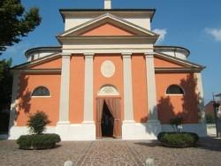 Formigosa, chiesa parrocchiale del 1840.
