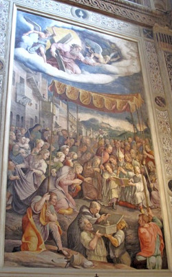 Cappella di San Longino nella basilica di Sant'Andrea.