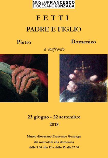 Fetti padre e figlio. Pietro e Domenico a confronto