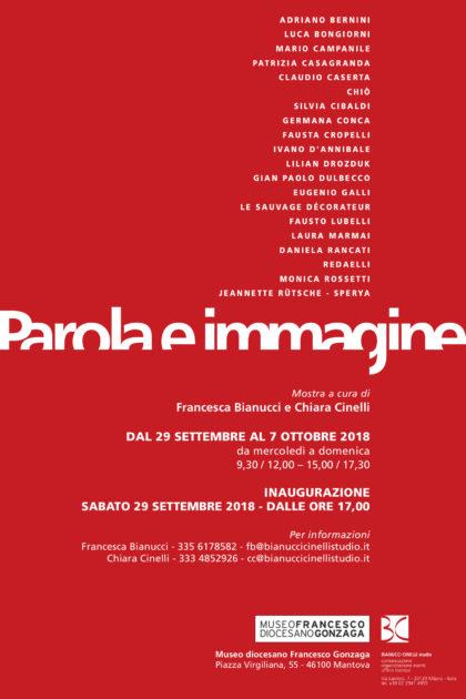 Parola e Immagine – mostra collettiva di arte contemporanea