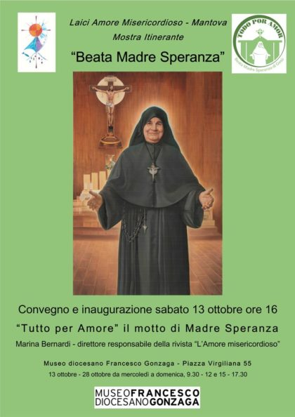 "Mostra ""Beata Madre Speranza"""