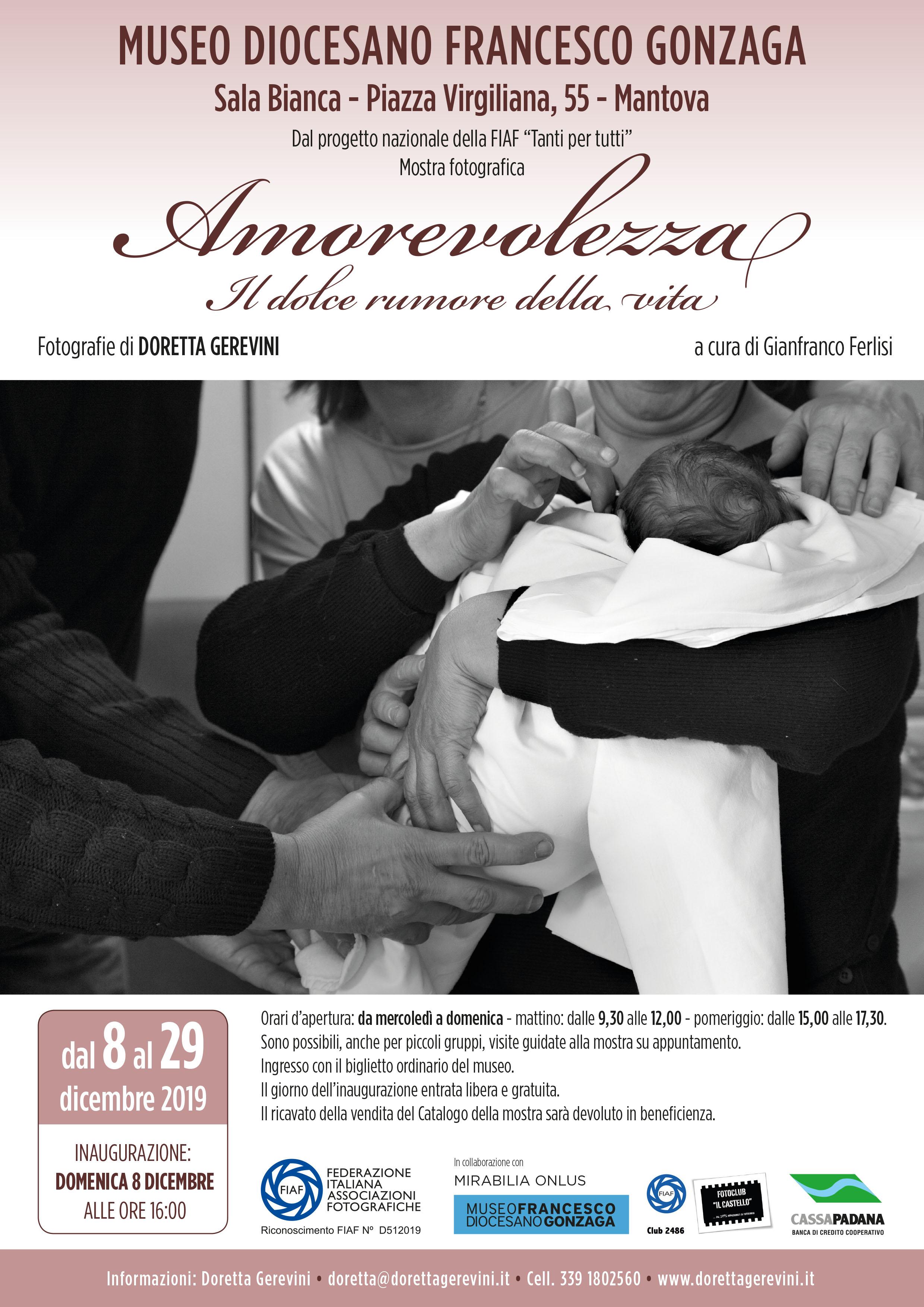"""""""Amorevolezza"""" fotografie di Doretta Gerevini"""